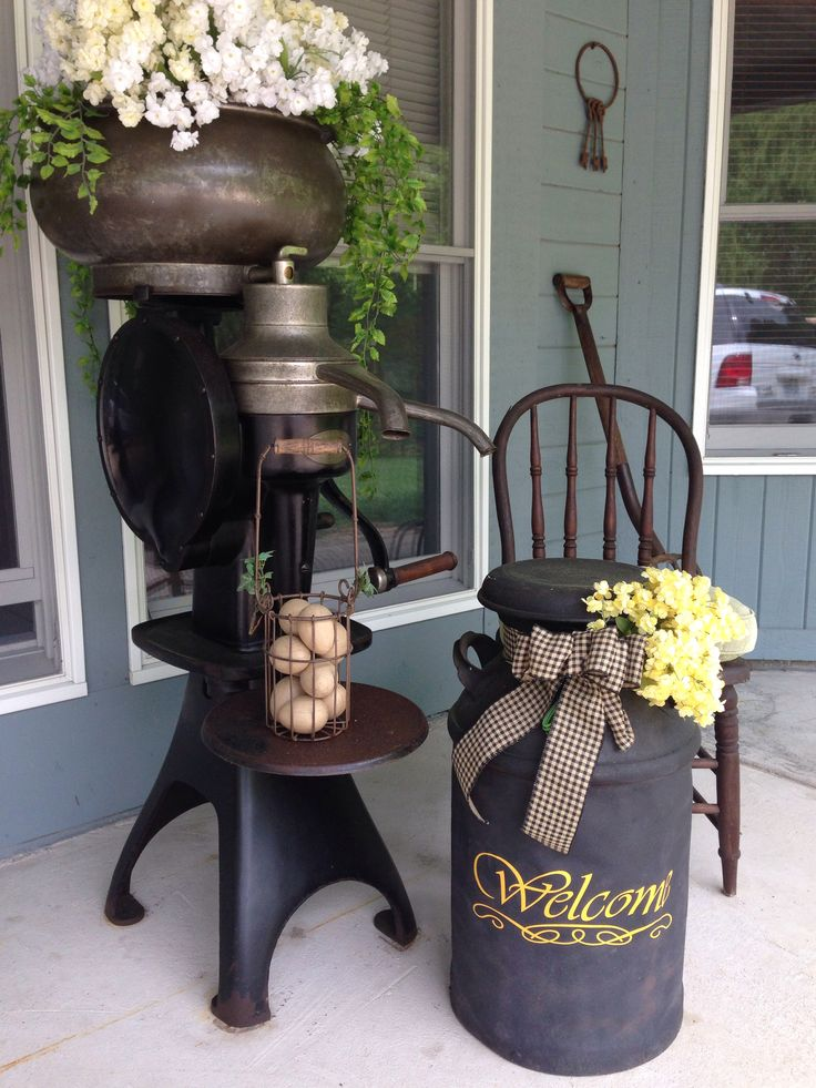 Cream Separator Front Porch 2014 Pinterest Porch