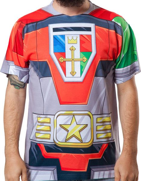 Voltron Sublimated Costume Shirt