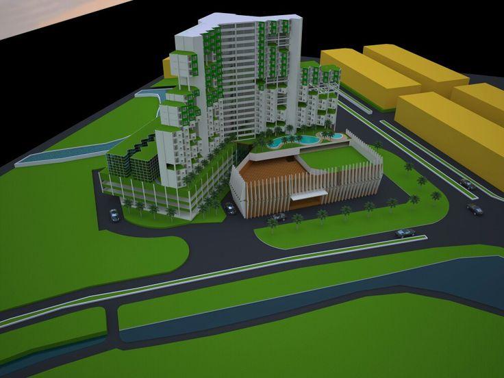 Studio perancangan arsitektur 6 Mixed use building