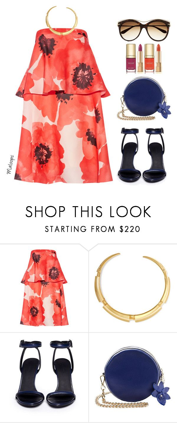 """""""~I'll be the one to collect all the stars in your heart again~"""" by maloops ❤ liked on Polyvore featuring Lela Rose, Fred Leighton, Alexander Wang, Alexander McQueen, Dolce&Gabbana, tropical, Trendy and TropicalVacation"""