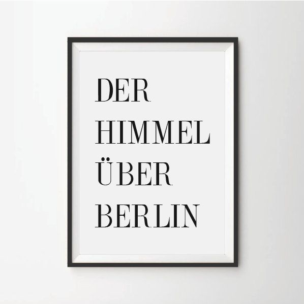35.00$ - Der Himmel Über Berlin, quote prints, quote posters, cinema posters, typography poster,art quotes, print quotes, Win Wenders  #icon #sign #symbol #graphic #3d #blank #design #web #shadow #business #paper #button #element #object #internet #empty #computer #technology #shiny #communication #set #color #note #message #square #box #art #push #frame #plastic #yellow #black #shape #modern #icons #digital #equipment #information #text #reflection #post #label #write #buy #sale
