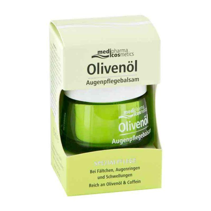 OLIVENOEL balsam pod oczy 15 ml ® z apteki internetowej apo-discounter.pl. Oryginalny niemiecki produkt w atrakcyjnej cenie. Wysyłka gratis już od 200 zł!