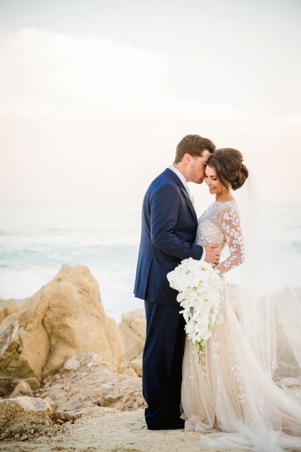 Paradise Found Romantic Tropical Wedding In Mexico Bride Groom