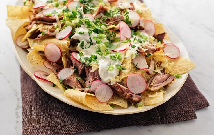 NYT Cooking: Game Day Nachos