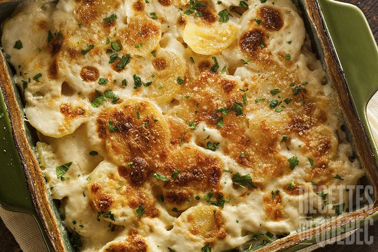 #Gratin #dauphinois, le summum des gratins de pommes de terre #recettesduqc #économique