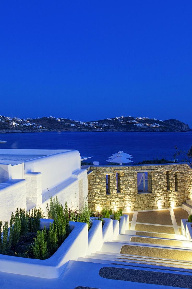 Beautiful night in Greece