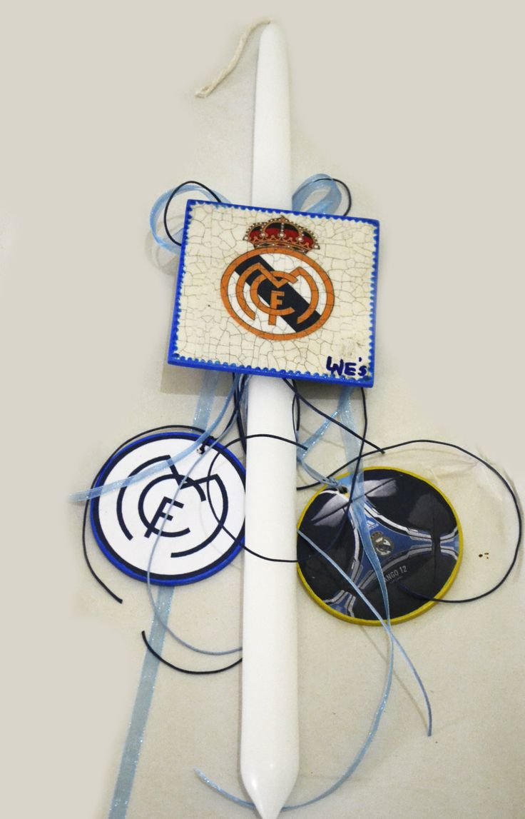 real madrid easter candle Lne's artwork