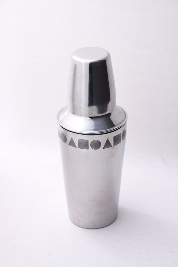 Italian Cocktail shaker stainless steel Mid by Ottantaocchi