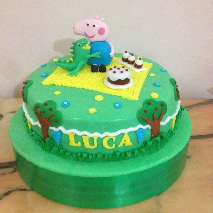 Torta George Pig