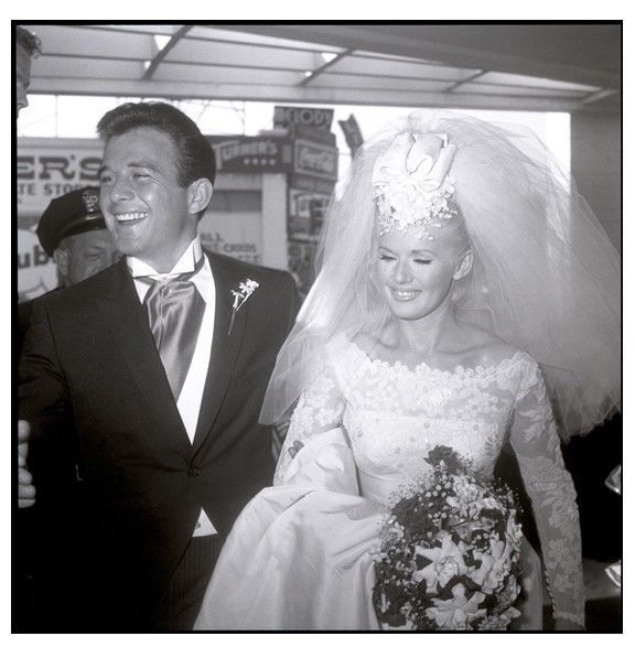 Connie Stevens and James Stacy married 1963-67, her 1st marriage. She went on to marry Eddie Fisher (1967-69) and had daughters Joely and Tricia.