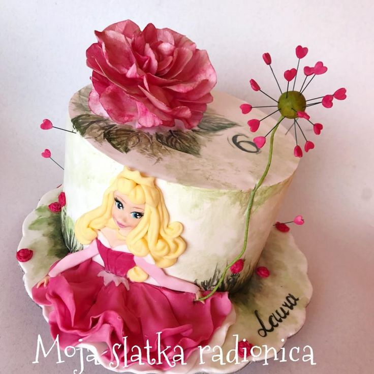 Sleeping beauty cake by Branka Vukcevic