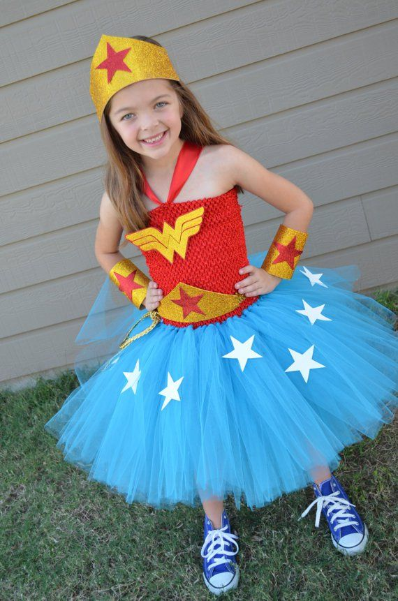 Wonder Woman Halloween Costume For Kids