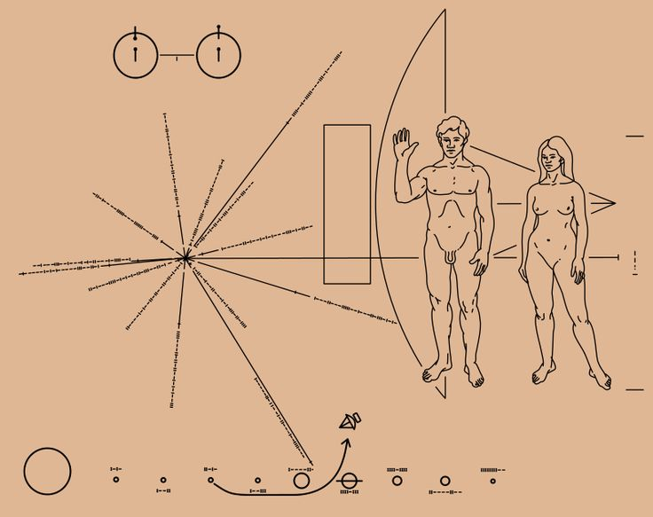 Pioneer plaque - Wikipedia, the free encyclopedia