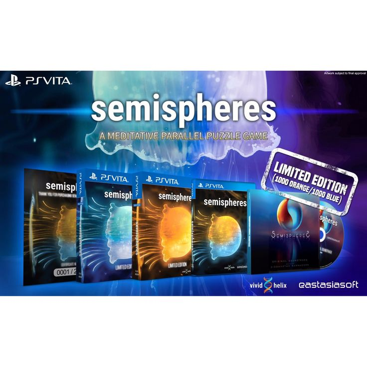 Semispheres [Blue Cover Limited Edition] - Play-Asia.com Exclusive  ||  Semispheres [Blue Cover Limited Edition] - Play-Asia.com Exclusive * More than 50 levels, each building on top of each other, culminating with fiendishly complex puzzles * Stealth-inspired gameplay, including abilities like noise-makers, portals, side-swapping, teleporting and more * Immersive https://link.crwd.fr/4fRk