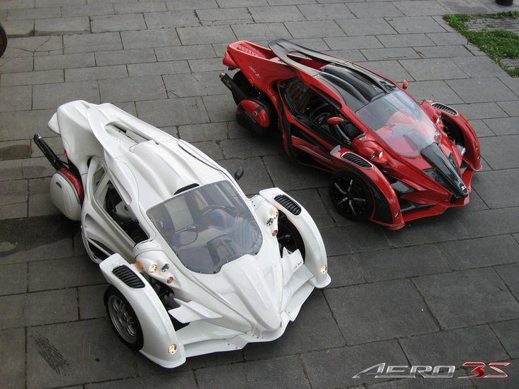 T-Rex Aero 3S - a bike or a car?  who cares...I want one!