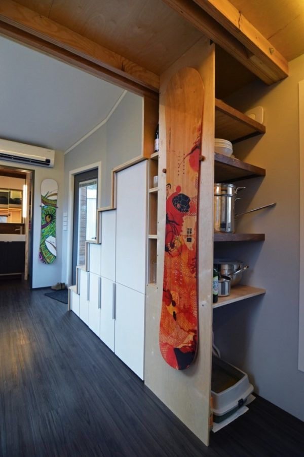 80 best Tiny House Storage Ideas images on Pinterest Tiny house