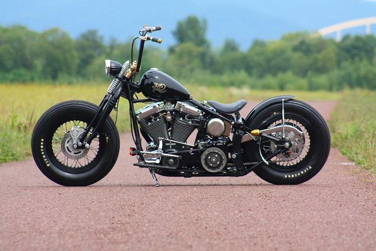 Harley Bobber - I love this bike.  This might be the one.