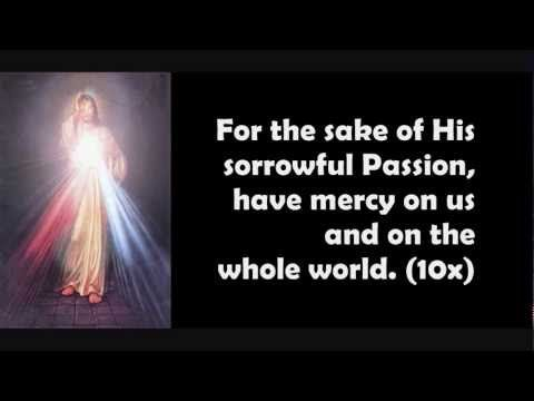 Song Selected for Poem Page 811.) The Chaplet of Divine Mercy in Song EWTN  For the Sake on his Sorrowful Passion have Mercy on Us and the Whole World to the EIV Bible    Ch.9 Music Religion (Pgs.762-828) Virtue of Fortitude (playlist)