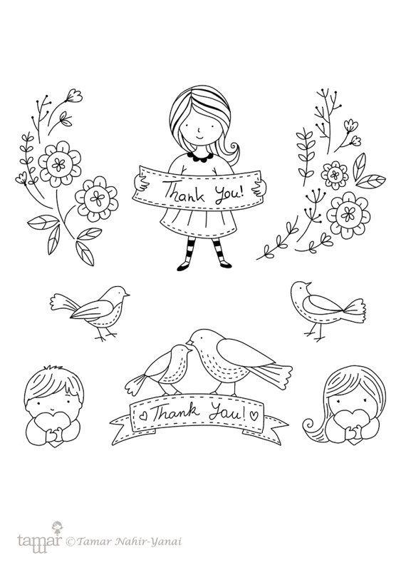 Clear Stamp Set 4 card making paper craft DIY by TamarNahirYanai