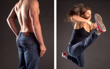Barbell Denim creates jeans for athletic body types that actually look & feel good | HellaWella
