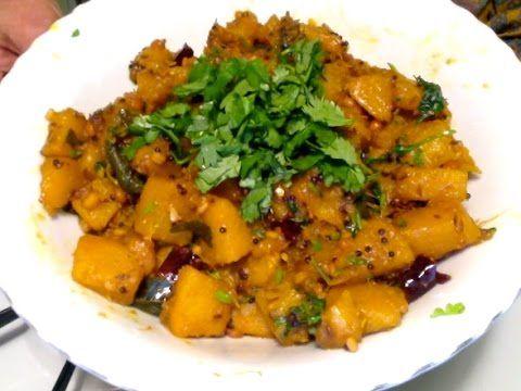 Gummadi Kaya Koora-Andhra Style Pumpkin Curry