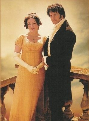 Elizabeth and Darcy - Jane Austen's Pride and Prejudice, from the 1995 BBC TV series.