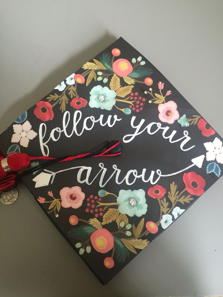 Graduation Cap - Follow your arrow