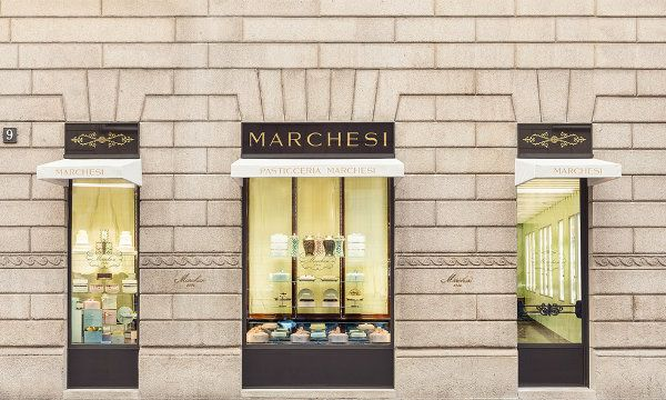 Best Italian Interior Designers  Bar Marchesi designed by Roberto Baciocchi Marchesi Monte Napoleone