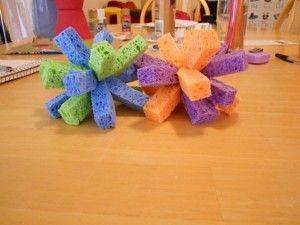 Sponge Water Bombs http://www.mrskathyking.com/sponge-water-bombs/