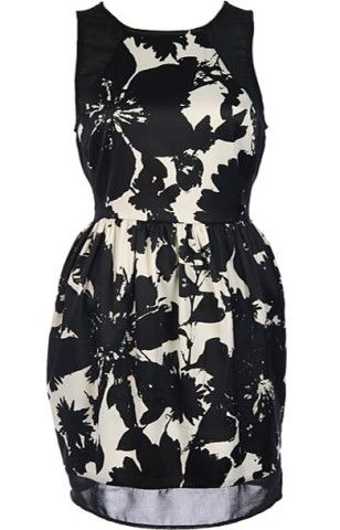 Graphic Garden Dress