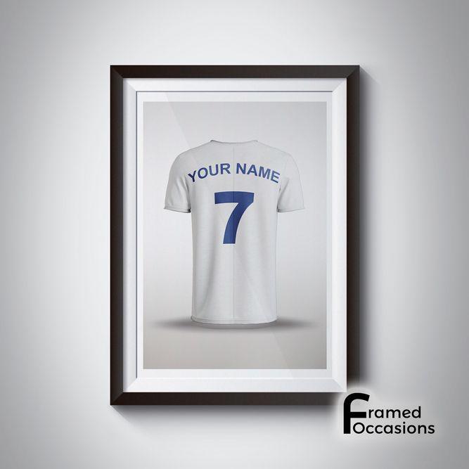 Personalised Tottenham Hotspur Football Shirt Print