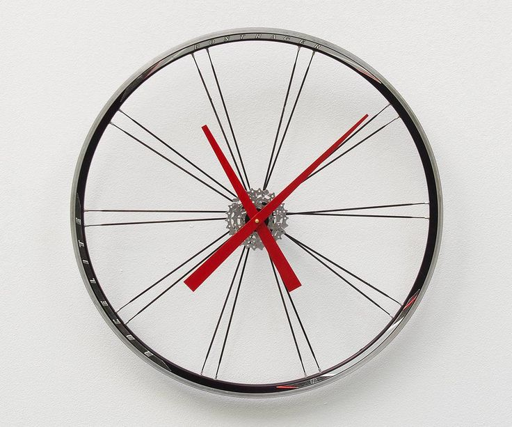 Bike Design Wall Clock : Best large wall clocks ideas on