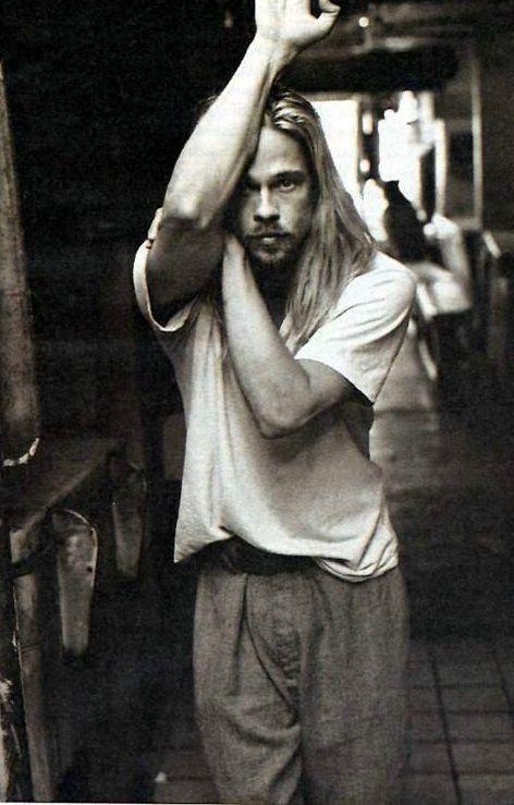 vintage Brad Pitt