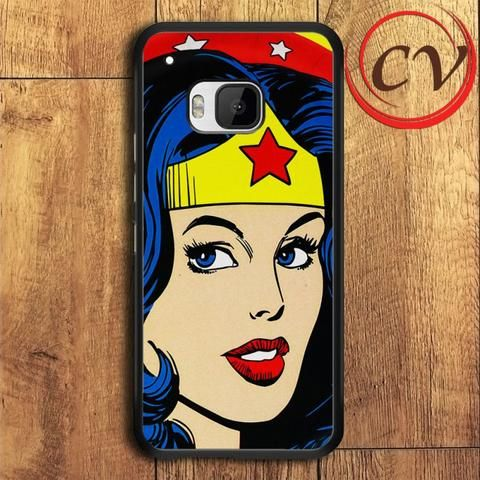 Wonder Woman HTC One M9 Black Case