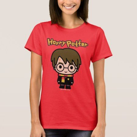 Harry Potter Cartoon Character Art T-Shirt - tap to personalize and get yours