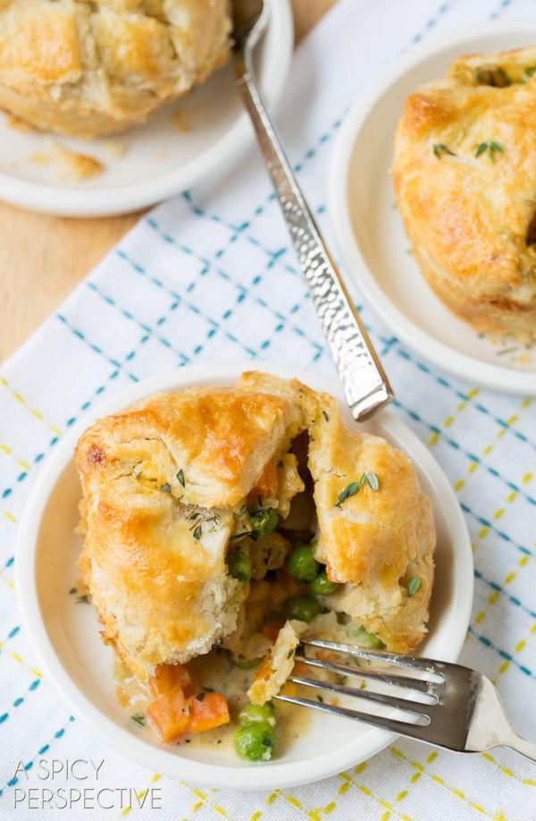 The very  BEST Chicken Pot Pie Recipe Ever! #chicken #potpie #recipe #giveameal