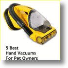 5+ Best Handheld Vacuum Cleaners For Pet Owners