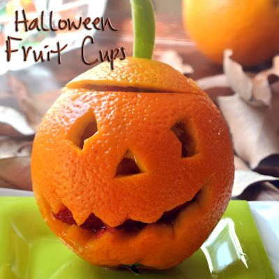 Mom, What's For Dinner?: Halloween Fruit Cups