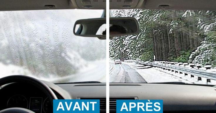 Voici une méthode très facile pour en finir avec la buée qui s'installe sur les vitres des voitures !