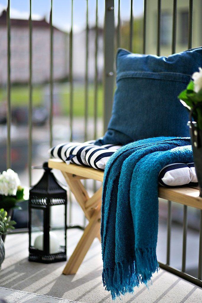 Balc n patio terra o decorado varanda decorada for Patio decorado
