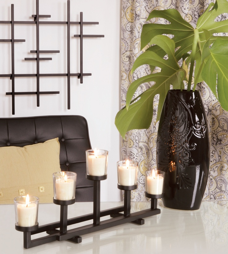We love the versatility of black decor accessories because they look great with so many other colours!