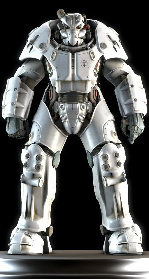 The X-01 power armor is a set of power armor created by the remnants of the U.S. military after the Great War. It improves upon the pre-war suits by offering superior protective abilities. The power armor bears considerable resemblance to the advanced power armor seen in previous Fallout games, mainly due to the helmet design and general style. X-01 power armor provides the greatest defense among all other models of power armor featured in Fallout 4 thus far.