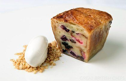 Matt Gillan gives this pain perdu recipe a delicious wintry twist, thanks to the flavours of star anise and cinnamon. Serve with a scoop of your favourite ice cream - Matt Gillan recommends brandy ice cream