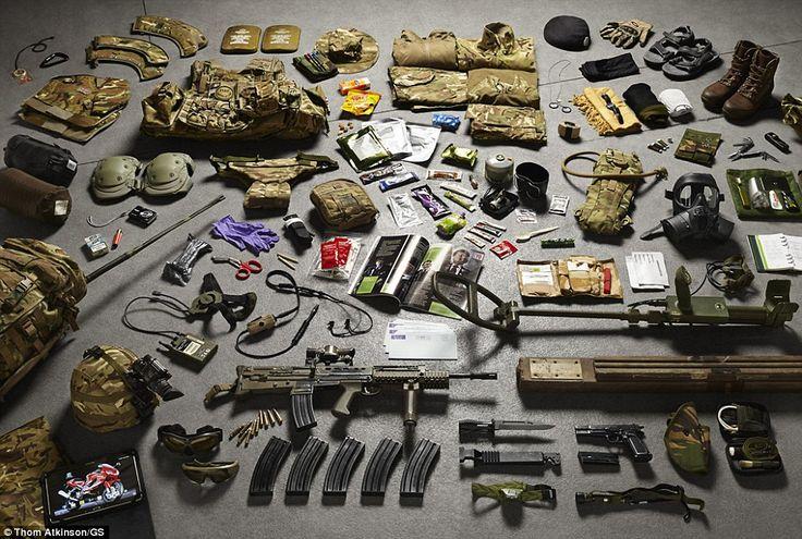 The Infantryman's load today, still a beast of burden?