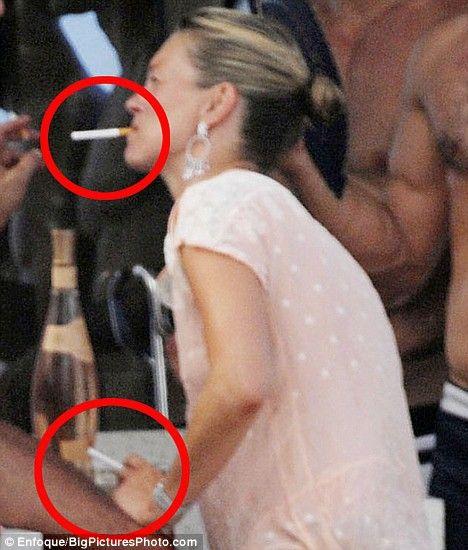 Famous celebrity cigarette smokers list