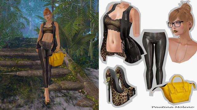 Spiderweb Second Life: Etchaflesh + Vive Nine + taketomi