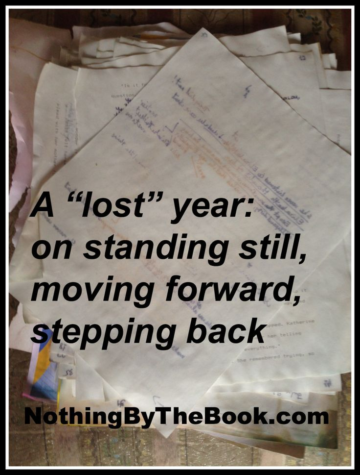 "NBTB Post: A ""lost"" year: on standing still, moving forward, stepping back http://nothingbythebook.com/2014/06/17/a-lost-year-on-standing-still-moving-forward-stepping-back/ #writing #loss #yycflood"