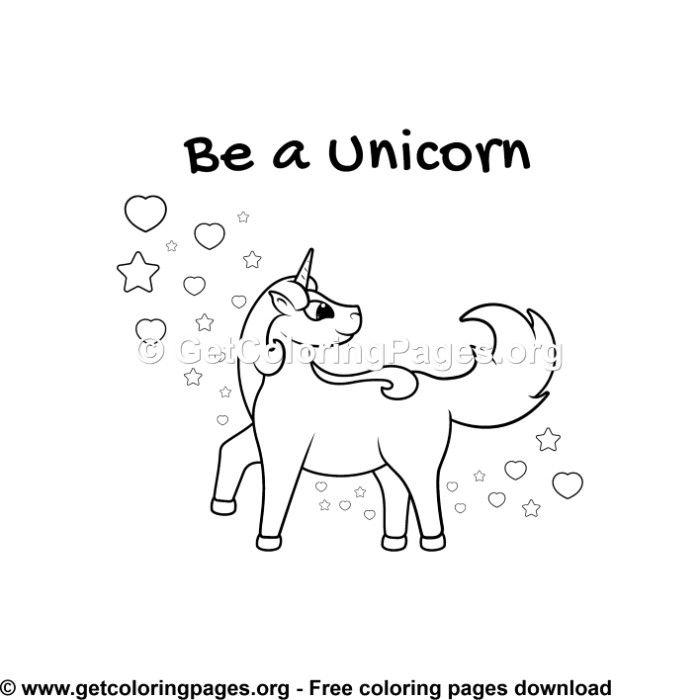 149 Unicorn Coloring Pages Unicorn Coloring Pages Coloring