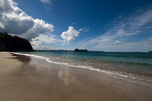 Hahei Beach, Coromandel,    New Zealand