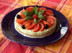 Cheesecake al pesto